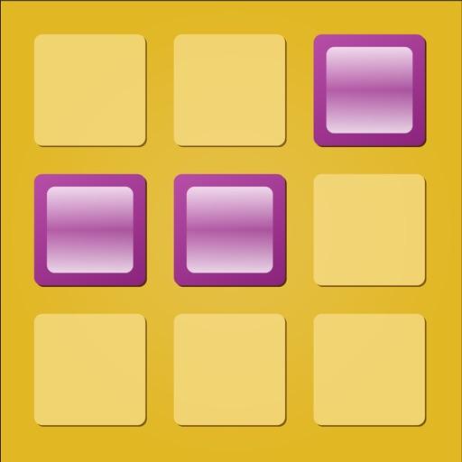 Three Tiles Tap iOS App