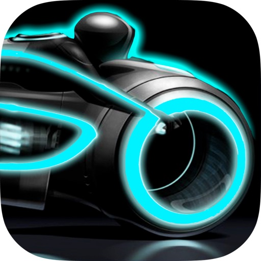 A Neon Race PRO – 3D motorcycle highway lane turbo chase game: multiplayer drive  high  track bike racing iOS App