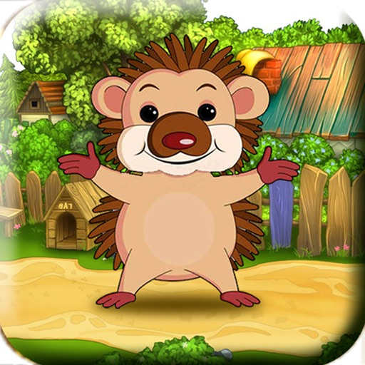 Bouncing Hedgehog! - For Kids! Help The Launch Tiny Baby Hedgehog To Catch His Food! iOS App