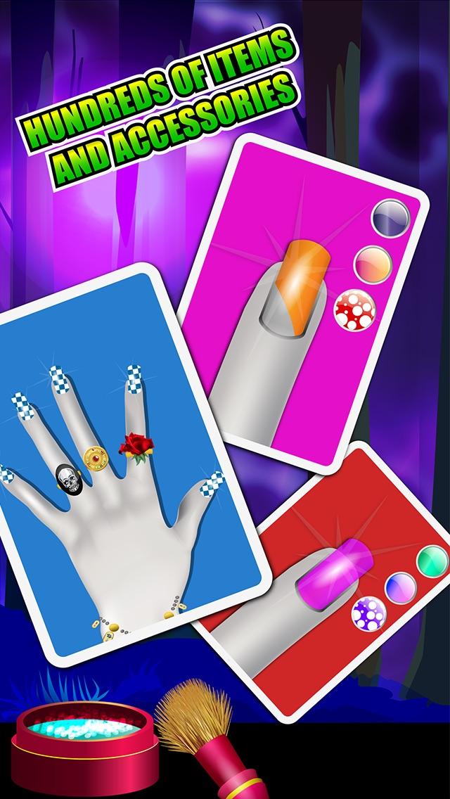 Screenshot von Nail Spa - Monster Spiele für Mädchen3