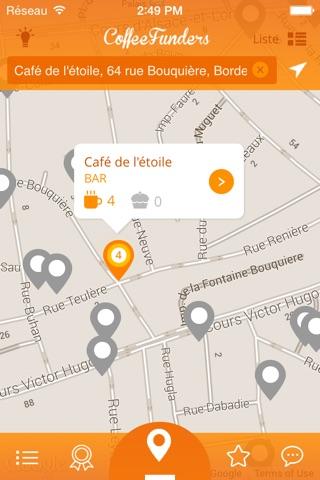 CoffeeFunders - Cafés suspendus screenshot 1