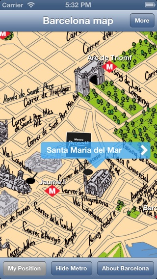 Barcelona Offline Map Guide Free On The App Store - Barcelona map guide