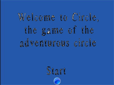 Circle, The Game Of The Adventurous Circle HD screenshot 1
