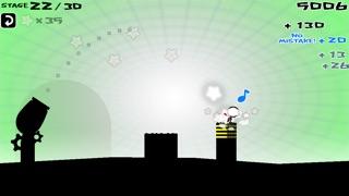 飛べぇぇ!ヒーロー[挑戦状!細ぉ~~い島に着地せよ!!!]のスクリーンショット3