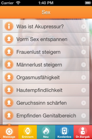 Best Sex with Chinese Massage Points - FREE Acupressure Trainer for Women and Men screenshot 3