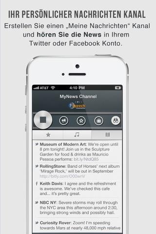 OneTuner Pro Radio Player for iPhone, iPad, iPod Touch - tunein to 65 genre stream! screenshot 4