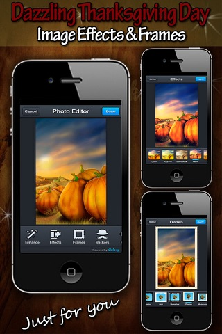 Thanksgiving HD Wallpapers for iPhone5S/iPhone5C/iPad screenshot 3