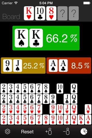 Poker Odds Calculator screenshot 1