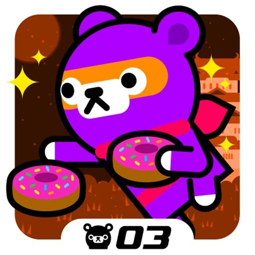 甜甜圈忍者:Donut Ninja – Tappi Bear