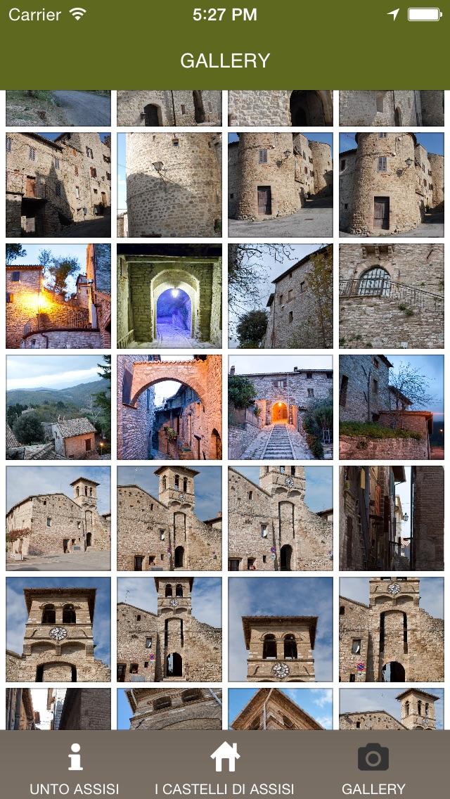 Screenshot of Assisi AppUnto5