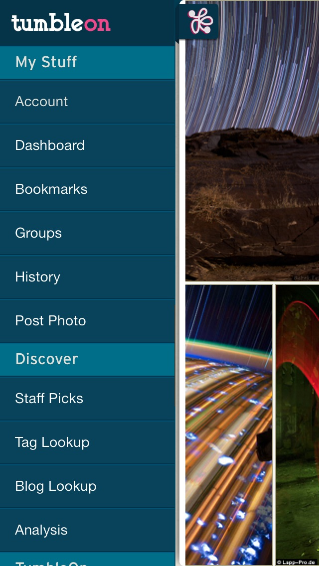 TumbleOn - Photo view... screenshot1