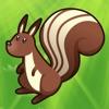 2-5歲兒童的森林動物的遊戲。幼兒園,學前班和幼兒園的遊戲和拼圖。玩狐狸,熊,烏龜,刺猬,松鼠,昆蟲,樹木和鮮花。無償的,新的教育!
