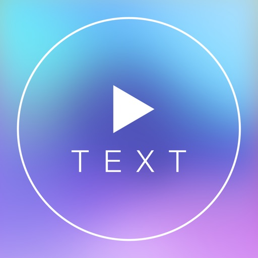 Text on Video Square FREE - Create Outstanding Videos Texts Designs for Instagram with Custom Font Beautiful caption Insert Quote or Any Phrase with Color on Your Video Vid and Background Music iOS App