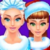 Frosty Christmas Beauty Salon