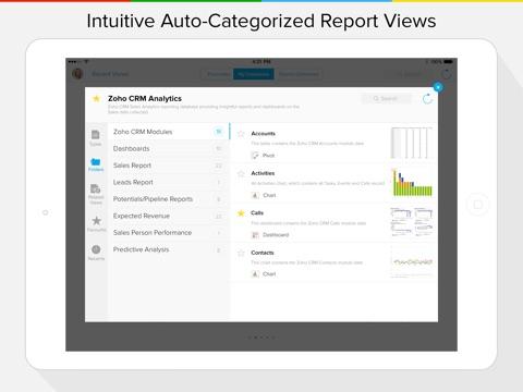 Zoho Reports Mobile BI screenshot 2