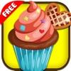 カップケーキメーカー - スープの愛好家、紅茶、ケーキ、キャンディー、フルーツ、チョコレート、アイスクリームのための女の子は子供無料のホットクッキングゲーム!