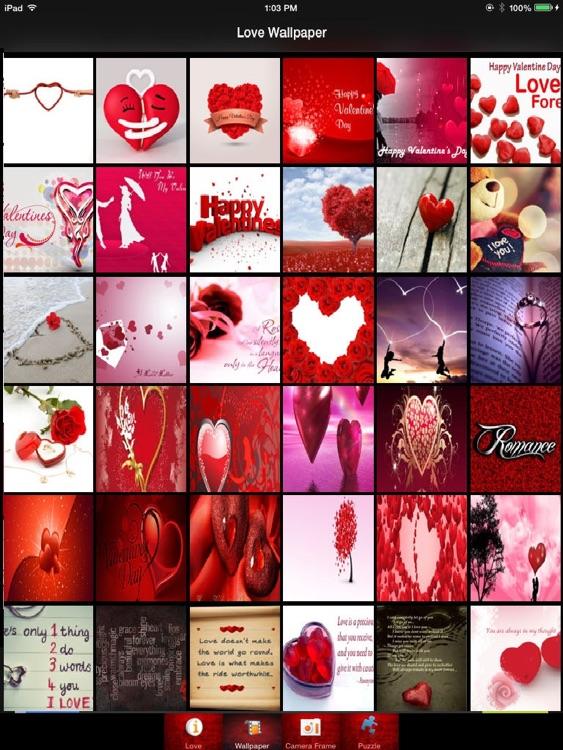 Romantic Love Live Wallpaper Frames