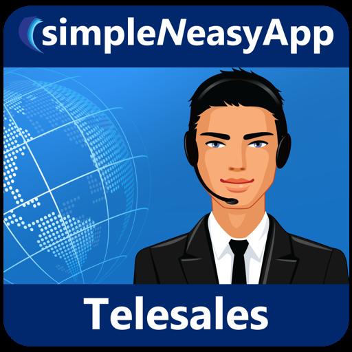 Telesales - A simpleNeasyApp by WAGmob