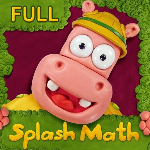Preschool & Kindergarten Splash Math workbook games for kids age 3-5. Learn writing & tracing numbers in school or homeschooling