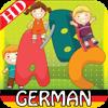 Kinder Deutsch ABC Alphabete Karteikarten Buch für Vorschulkindergarten & Kleinkinder mit kosten Phonetik & Kinderreim.