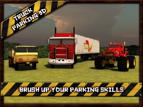 Screenshot #4 pour Truck Parking 3D Free