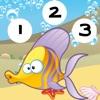 123 Attivo! Gioco Per Imparare a Contare Con il Pesce Per i Bambini