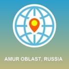 Амурская область, Россия Карта - Карта форума, POI, GPS, направления icon