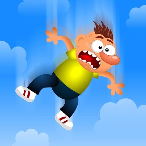Clumsy Fred Vector Base Jumper: iOS App
