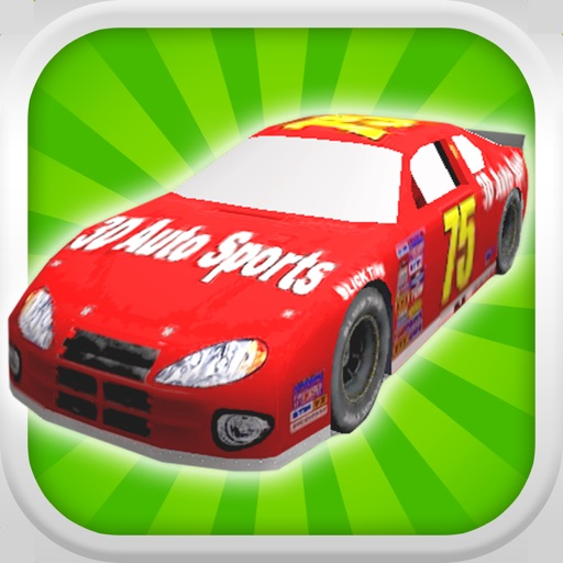 A Stock Car Speedway: 3D Speed Racing Game - FREE Edition iOS App