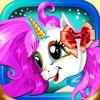 Little Pony Dress-Up Hair Salon - Baby Unicorn Make-up & Magical Make-over Game for Girls