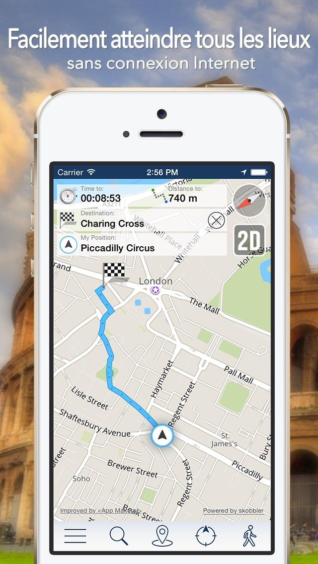 Lisbonne Offline Carte + Guide City Navigator, Attractions et TransportsCapture d'écran de 3