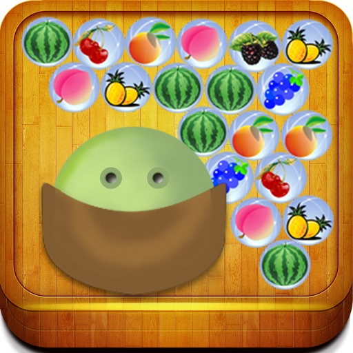 Happy Shooter (bubble fruits in the jungle) iOS App