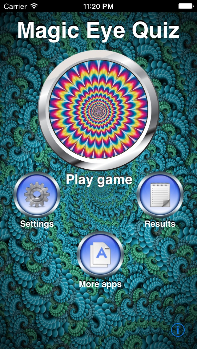 Magic Eye Stereogram Quiz Screenshot