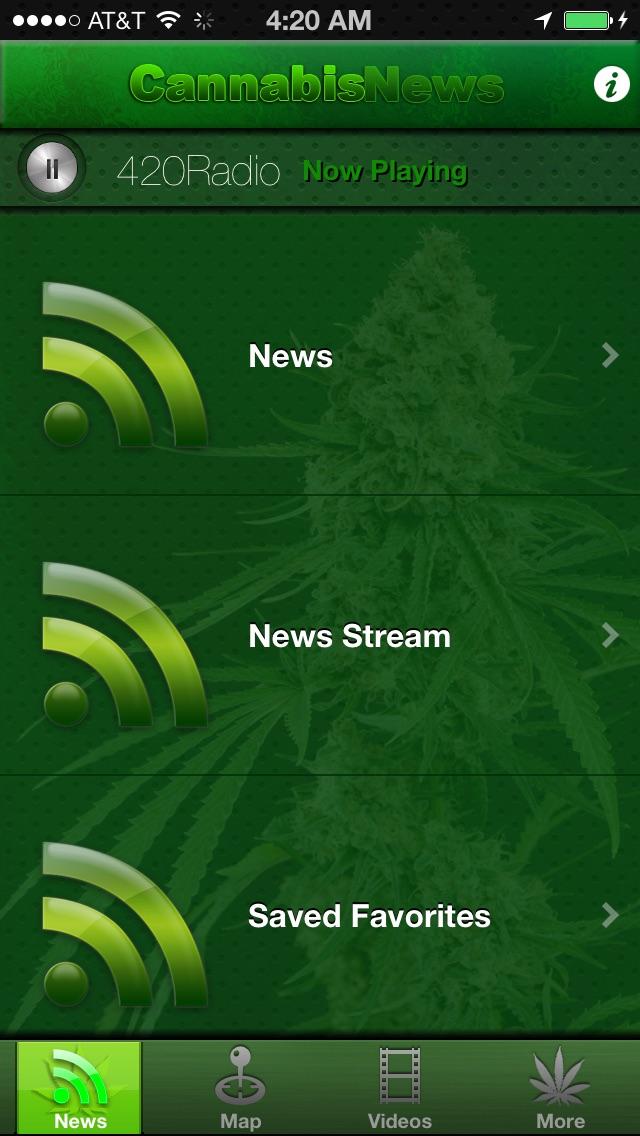 Cannabis News Pro Screenshot