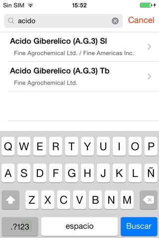 SAG Plaguicidas screenshot 3
