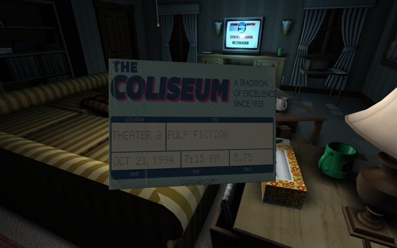 Screenshot #3 for Gone Home