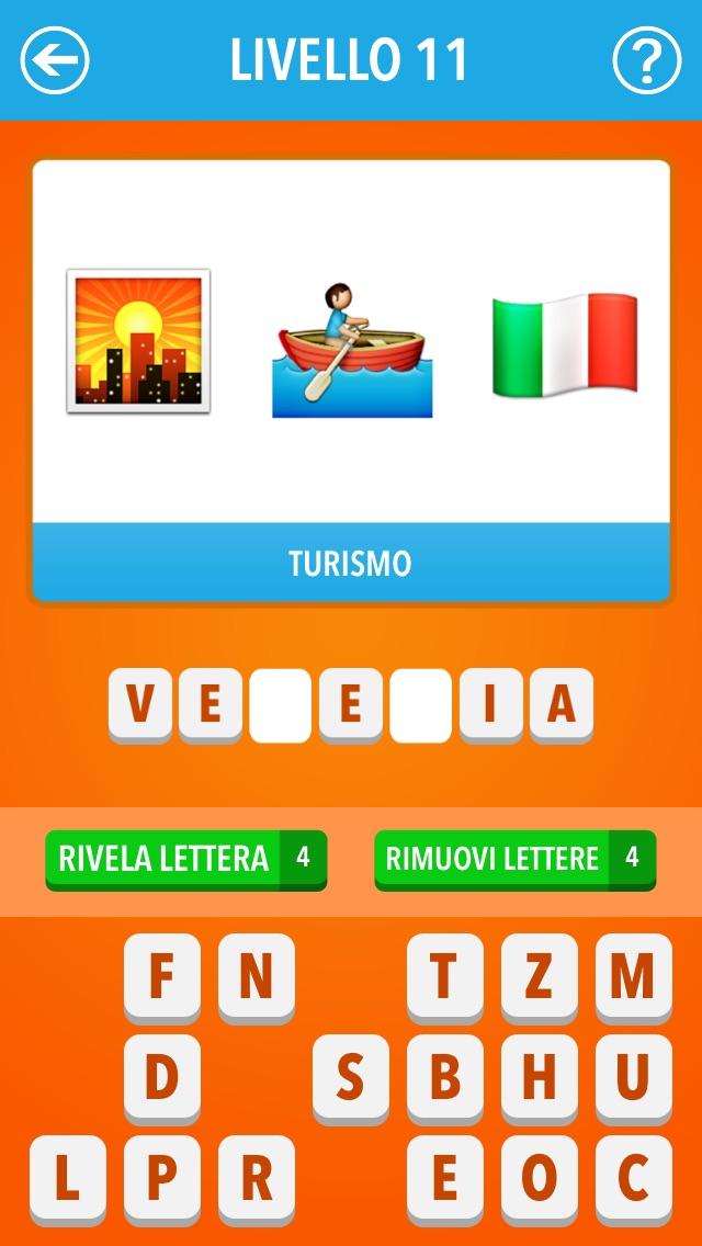 Screenshot of Emoji Quiz Italia ~ Film, TV, personaggi famosi, marche1