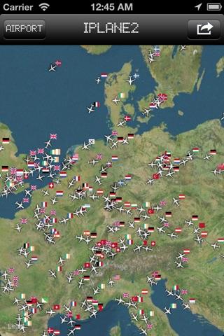 iPlane 2 - Flight Info + Status + Radar Tracker screenshot 4