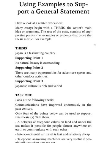 screenshot 4 - Toefl Essay Example