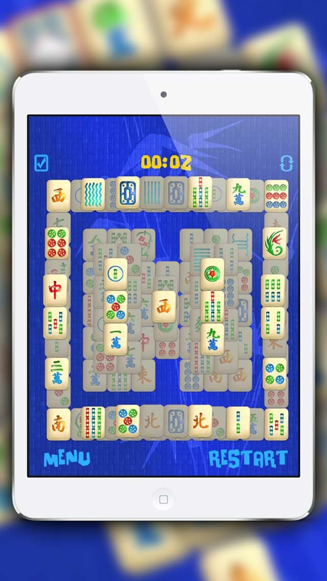 Screenshot of mahjong giochi gratis4