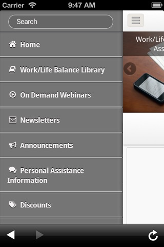 WorkLife Mobile screenshot 2