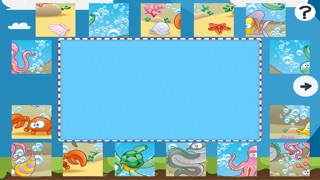 Puzzle de la mer - jeu de puzzles pour enfants en bas âge et les parents! Apprendre avec des poissons, anguilles, crabes, tortues, l'eau, océan, requin de la maternelle, école maternelle et l'école maternelleCapture d'écran de 3
