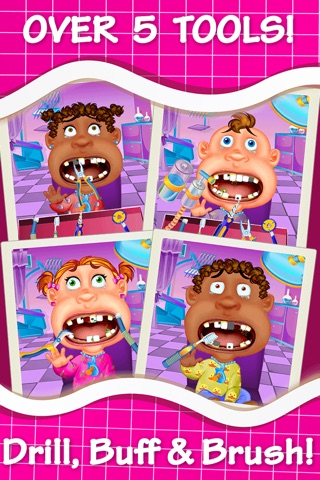 Baby Dentist Make-Over - Little Hand And Ear Doctor Salon For Fashion Kids screenshot 2