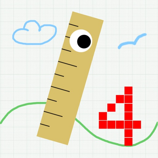 Number Jumper - cute retro jumping game iOS App