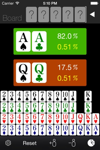 Poker Odds Calculator screenshot 3