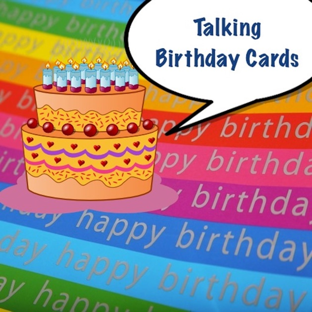 talking birthday cards with voice changer on the app store, Birthday card