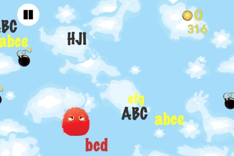 ABC Monster Friends – Fun game for children to learn the letters of the alphabet for preschool, kindergarten or school! screenshot 4