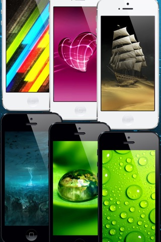 Cool Wallpapers for iOS 7 Pro screenshot 3
