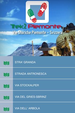 TREK2 PIEMONTE Vie Storiche Piemonte-Svizzera screenshot 2