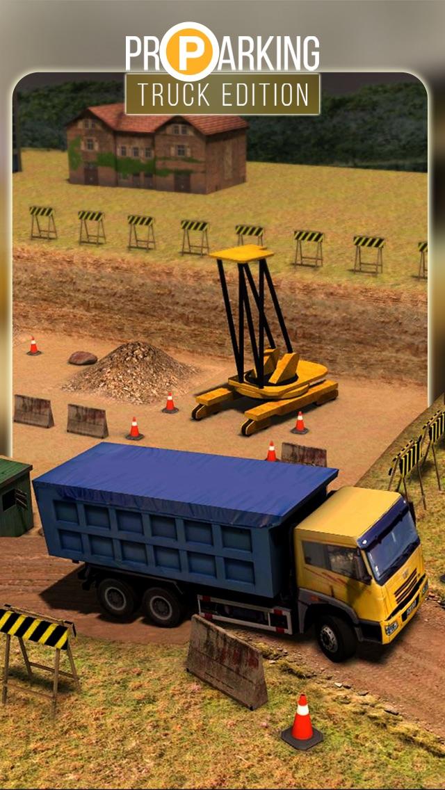 Screenshot #1 pour Pro Parking 3D: Truck Edition